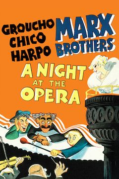 Poster for the movie A Night at the Opera