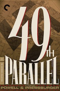 49th Parallel movie poster.
