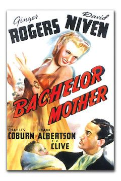 Bachelor Mother movie poster.