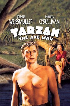 Tarzan, The Ape Man movie poster.