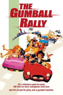 Gumball Rally movie poster.