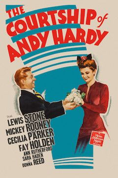 The Courtship of Andy Hardy movie poster.