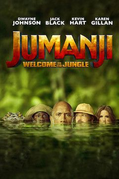 Jumanji: Welcome to the Jungle movie poster.