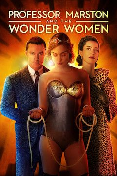 Professor Marston and the Wonder Women movie poster.