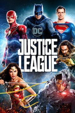 Justice League movie poster.