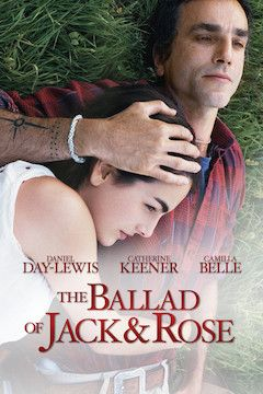 The Ballad of Jack and Rose movie poster.