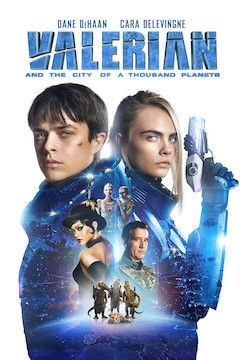Valerian and the City of a Thousand Planets movie poster.