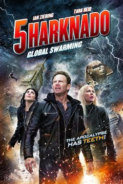 Sharknado 5: Global Swarming movie poster.