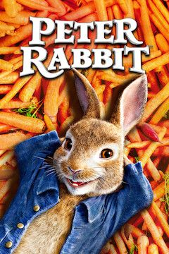 Peter Rabbit movie poster.