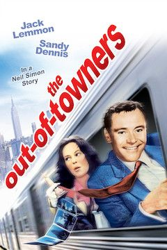 Poster for the movie The Out of Towners