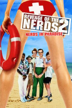 Revenge of the Nerds II: Nerds in Paradise movie poster.