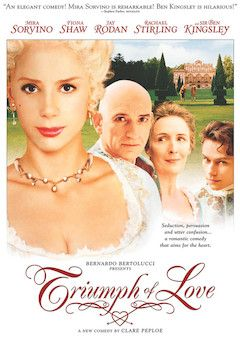 The Triumph of Love movie poster.