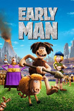 Early Man movie poster.
