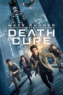Maze Runner: The Death Cure movie poster.