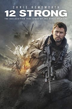 Poster for the movie 12 Strong