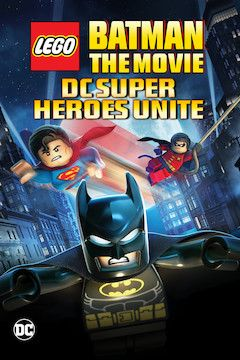 LEGO Batman: The Movie - DC Super Heroes Unite movie poster.