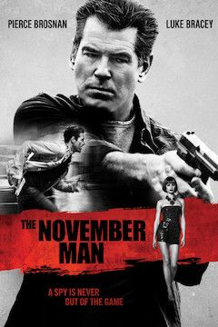 The November Man movie poster.