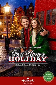 Once Upon a Holiday movie poster.