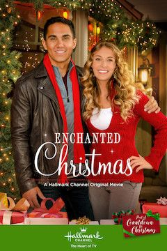Enchanted Christmas movie poster.