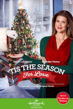 'Tis the Season for Love movie poster.