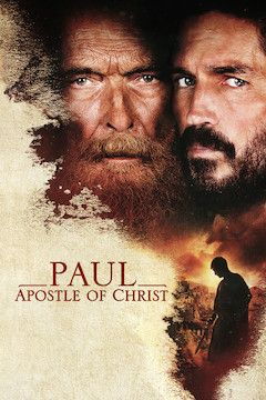 Paul, Apostle of Christ movie poster.