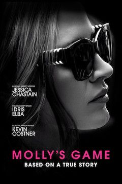 Molly's Game movie poster.