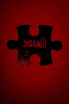 Jigsaw movie poster.