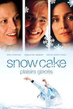 Snow Cake movie poster.
