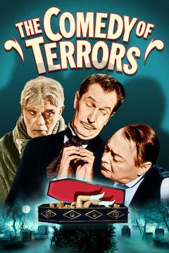 The Comedy of Terrors movie poster.
