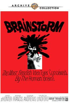 Brainstorm movie poster.