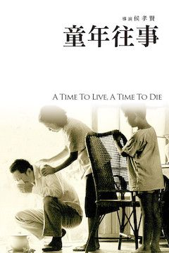 Poster for the movie A Time to Live