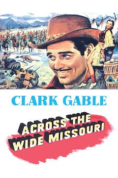 Across the Wide Missouri movie poster.