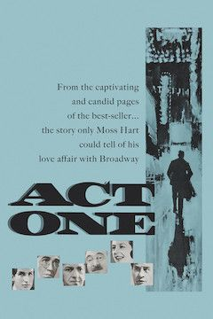 Act One movie poster.