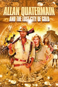 Allan Quatermain and the Lost City of Gold movie poster.