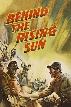 Behind the Rising Sun movie poster.