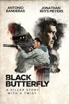 Black Butterfly movie poster.