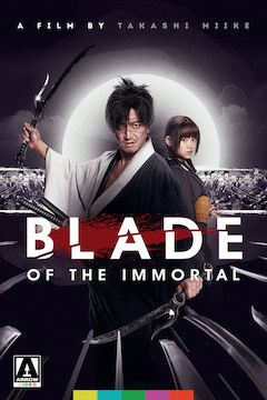 Blade of the Immortal movie poster.