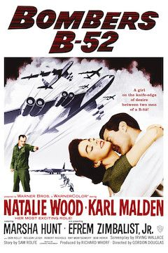 Bombers B-52 movie poster.