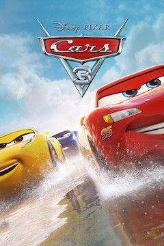 Cars 3 movie poster.