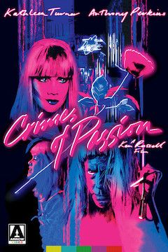 Crimes of Passion movie poster.