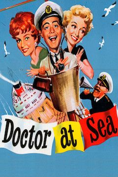 Poster for the movie Doctor at Sea