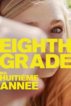 Eighth Grade movie poster.