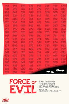 Force of Evil movie poster.