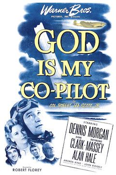 God is My Co-Pilot movie poster.