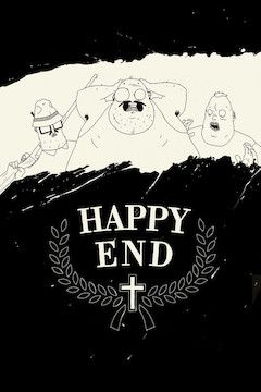 Happy End movie poster.