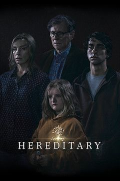 Hereditary movie poster.