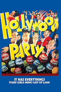 Hollywood Party movie poster.