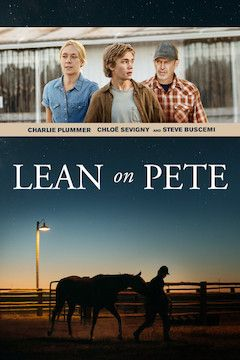 Lean on Pete movie poster.