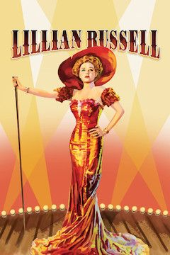 Lillian Russell movie poster.