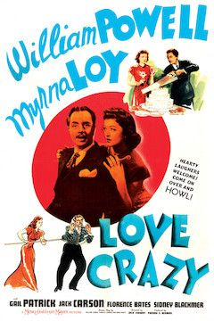 Poster for the movie Love Crazy